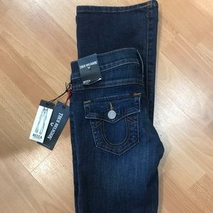 True Religion NWT Becca Mid Rise Bootcut Sz24
